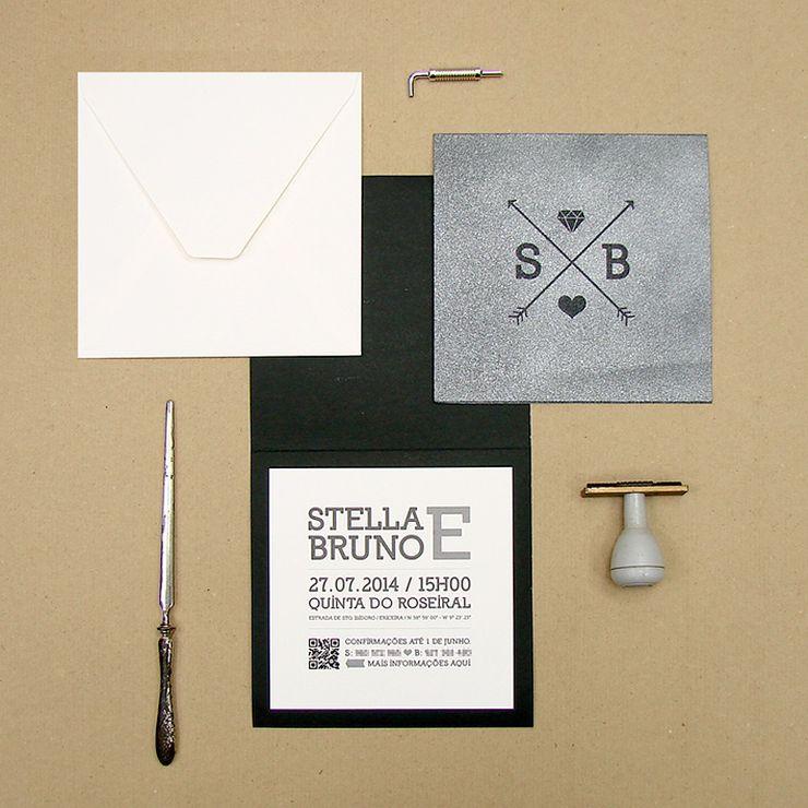 Stella and Bruno's Wedding Invitation