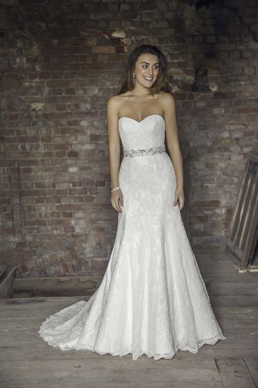 White long wedding dresses