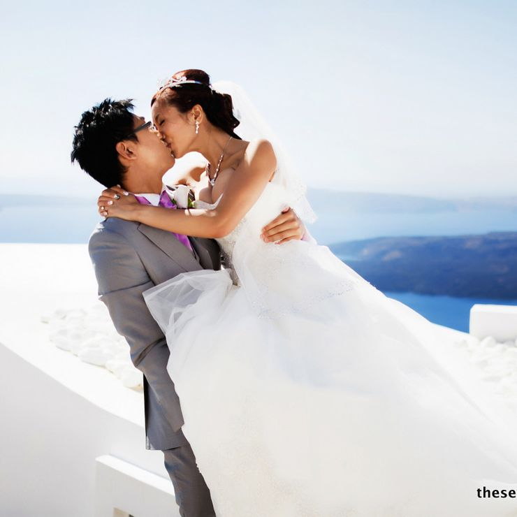 Rita Tan & Xi Le - Wedding in Santorini