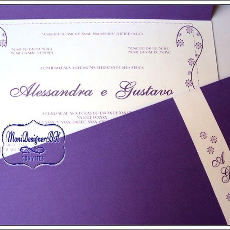 Convites Artesanais Exclusivos de Casamento
