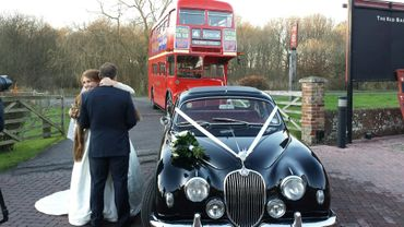 Black wedding transport