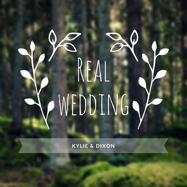 Kylie & Dixons Wedding