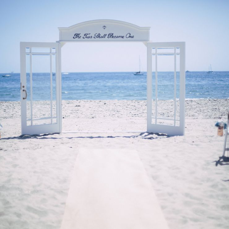 Santa Barbara Beach Wedding