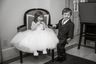 Kids at wedding
