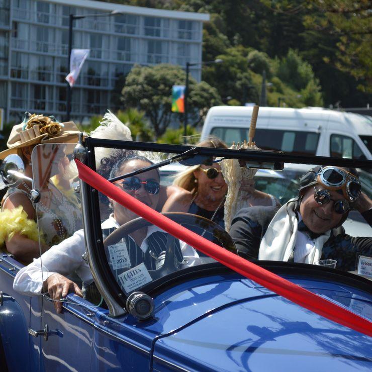 A fun wedding on Marine Parade