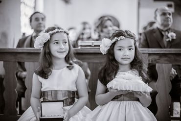 Overseas kids at wedding