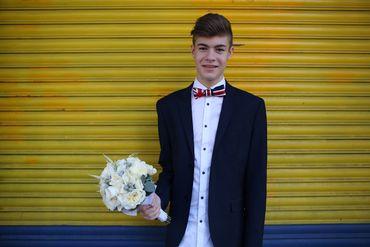 Black groom style