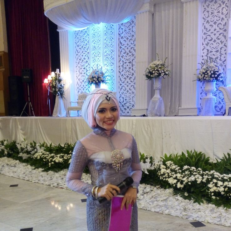 Vika and Ridho's wedding at Gedung Wanita Patra, Simprug