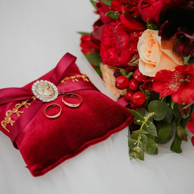 "Wedding ""Marsala Velvet"""