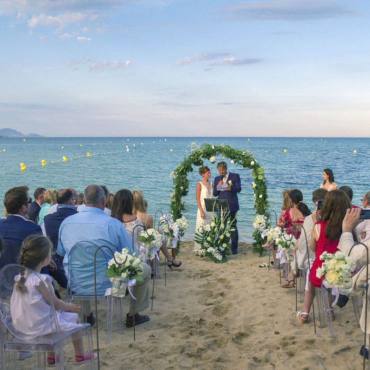 Annabelle and Fardad's wedding
