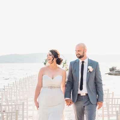 Beach white curvy wedding dresses
