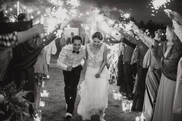 Outdoor long wedding dresses