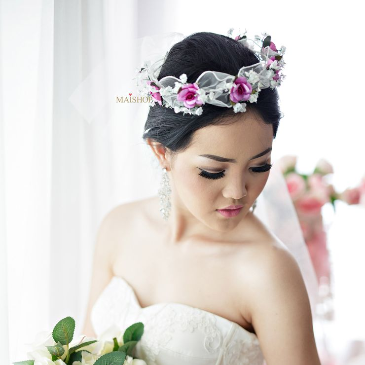 Classic Rose Flowercrown