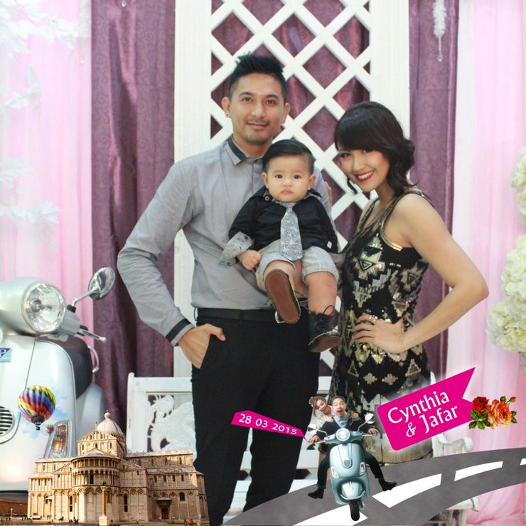 Mrs. Sharena family in Chintya & Jafar wedding. Central Jakarta.