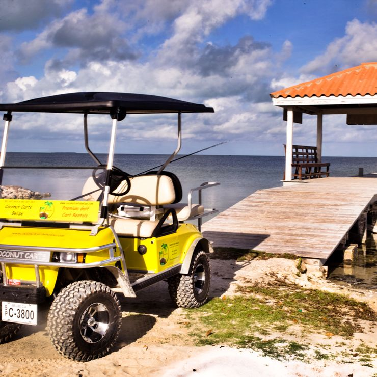 Coconut Carts Belize - Premium Golf Cart Rentals