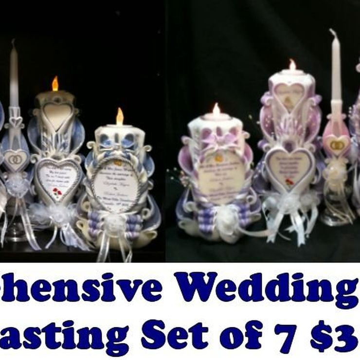 EVERLASTING WEDDING CANDLE