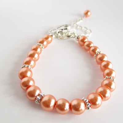 Orange bracelets, earrings, necklaces & other jewellery