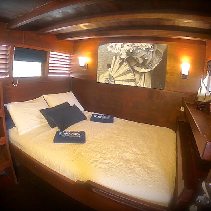 Honeymoon on Perjuangan Boat
