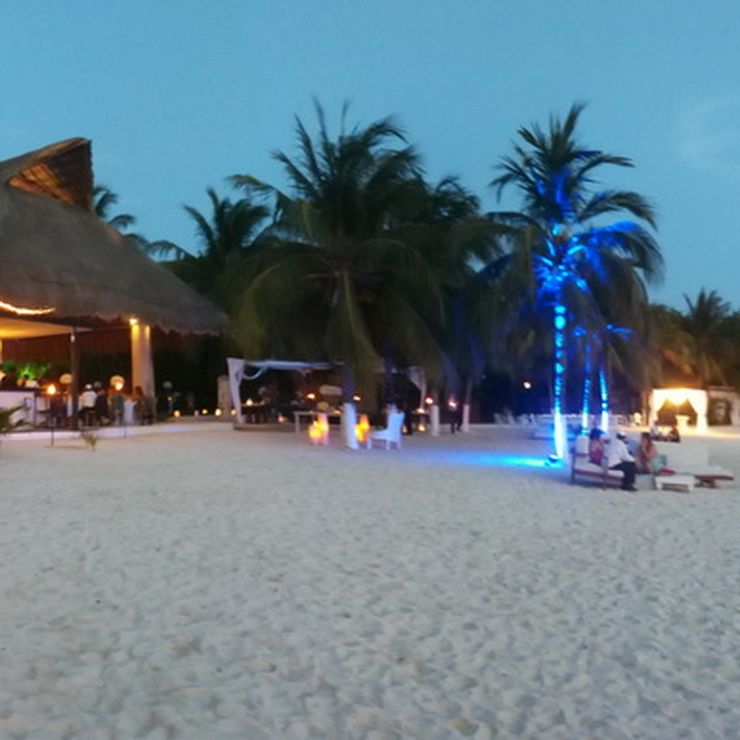 Isla Mujeres Venue on the Beach