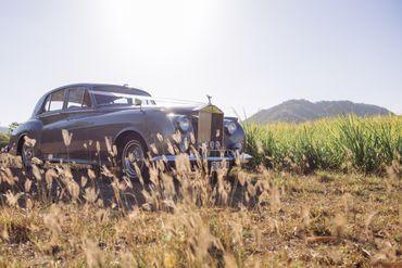 Grey wedding transport