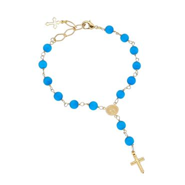 Blue bracelets, earrings, necklaces & other jewellery