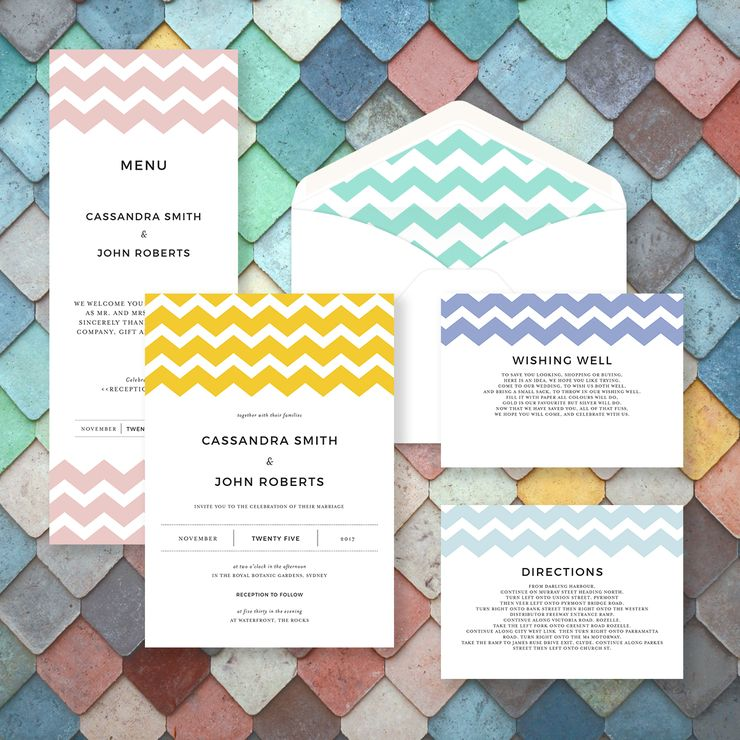 DreamDay print invitations