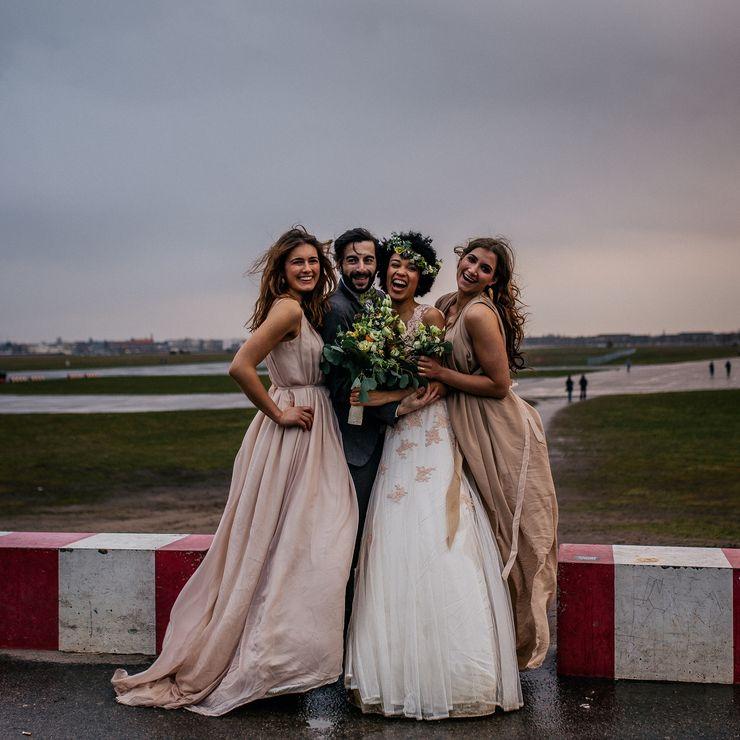 """Styleshoot """"Airport Wedding"""" mit Maria Luise Bauer"""