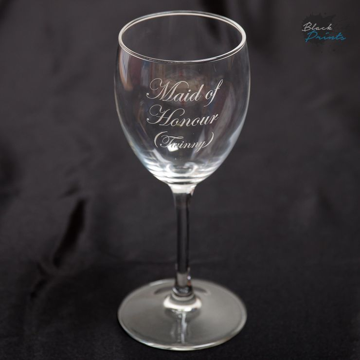 Engraved Glasses