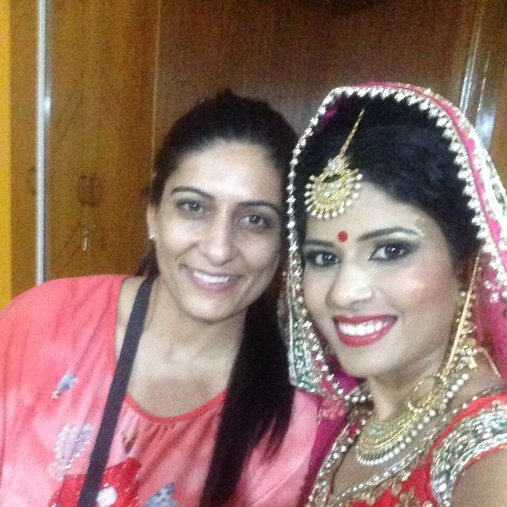 Richa Malik's makeovers