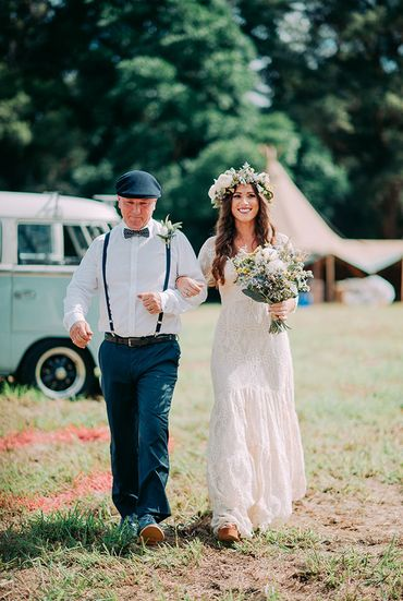 Outdoor long wedding dresses