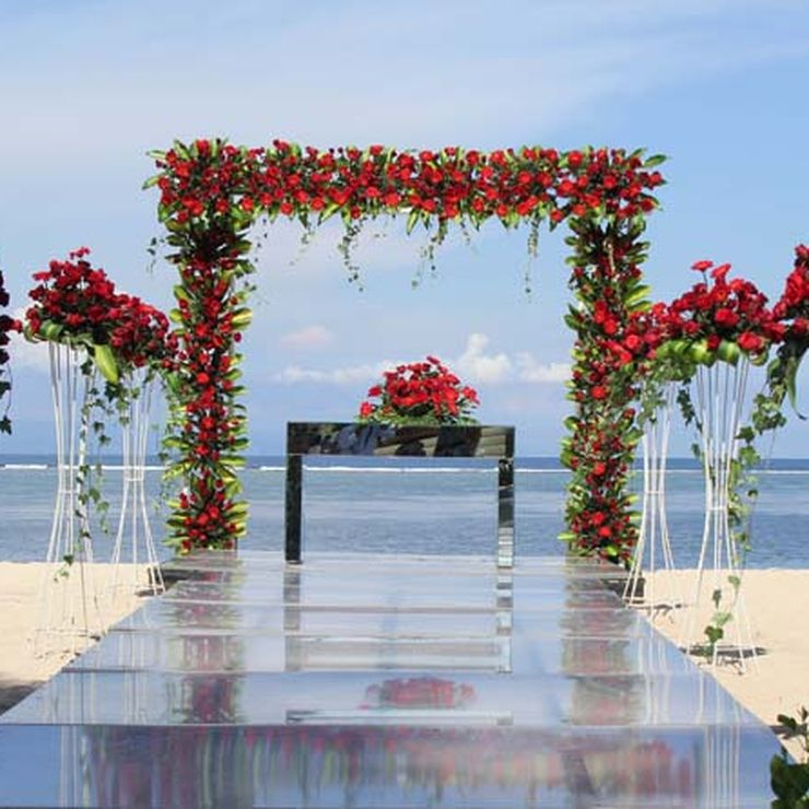Beach Wedding The Royal Santrian