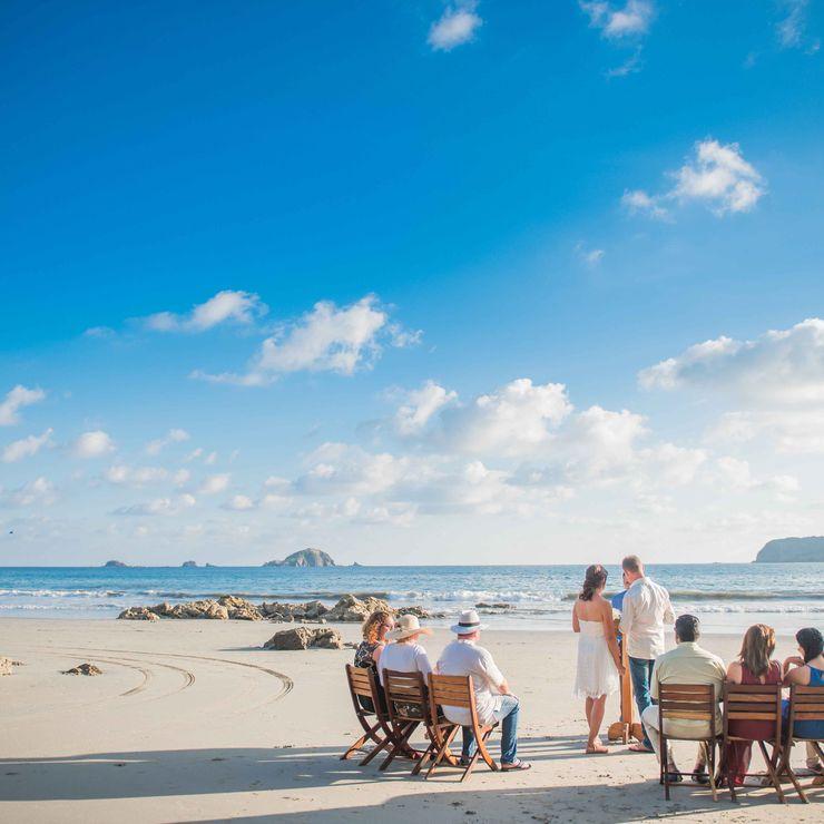 Costa Rica Beach Wedding Photography