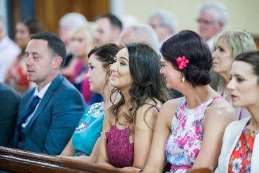 Overseas wedding guests