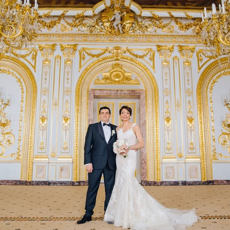 Russian-French wedding in Saint Petersburg