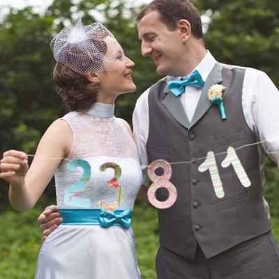Summer blue real weddings