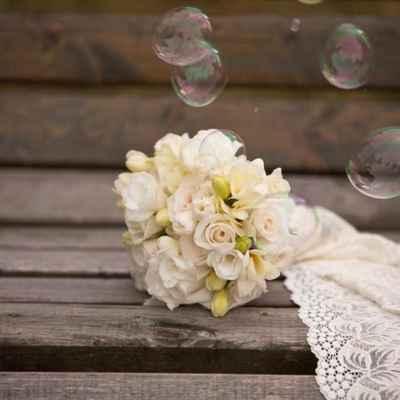 Friezes wedding bouquet