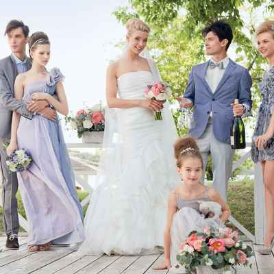 Summer grey mermaid wedding dresses