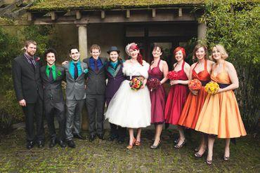English bridesmaids