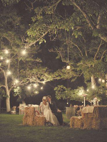 Rustic summer real weddings