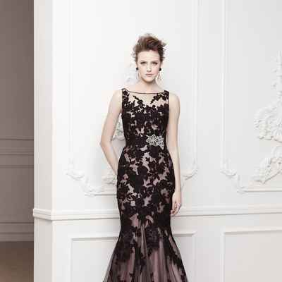 French pink short sleeve wedding dresses
